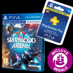 Starblood Arena + 1 Mes PlayStation Plus de regalo