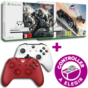 Xbox One S 1Tb a elegir + Controller a elegir de regalo