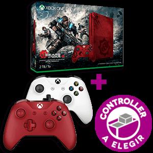 Xbox One S 2Tb Edición Gears of War 4 + Controller a elegir de regalo