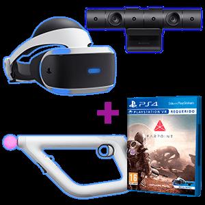PlayStation VR + Farpoint + Aim Controller + Cámara V2.0