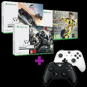 Xbox One S 1TB a elegir + Controller Microsoft a elegir de regalo