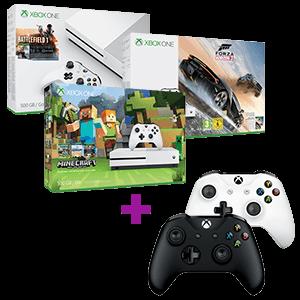 Xbox One S 500GB a elegir + Controller Microsoft a elegir de regalo