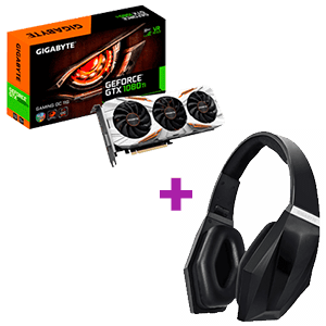 Gigabyte Geforce GTX 1080 Ti Gaming OC 11GB + Gigabyte Wireless Force H1 Bluetooth de regalo