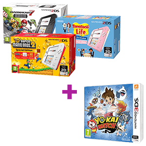 Nintendo 2DS/3DS a elegir + YO-KAI WATCH