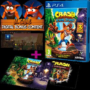 Crash Bandicoot N·Sane Trilogy + póster + DLC