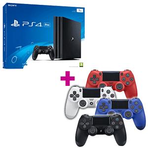 PlayStation 4 Pro 1TB + 2º Dualshock 4 a elegir de regalo