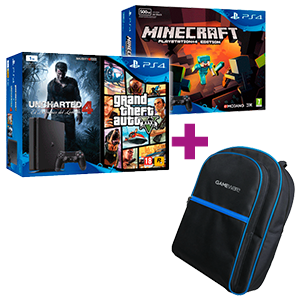 PlayStation 4 Slim a elegir + Mochila GAMEware de regalo