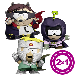 """2x1 en figuras South Park 3"""""""
