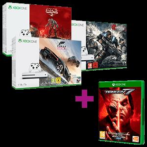 Xbox One 1TB a elegir + Tekken 7