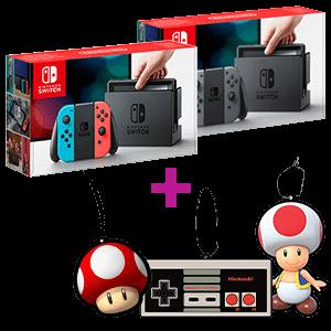 Nintendo Switch + Ambientador a elegir de regalo