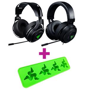 Razer Auriculares a elegir + Cubitera Razer de regalo