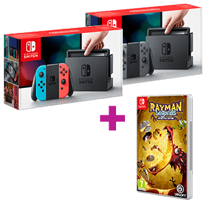 Nintendo Switch a elegir + Rayman Legends Definitive Edition