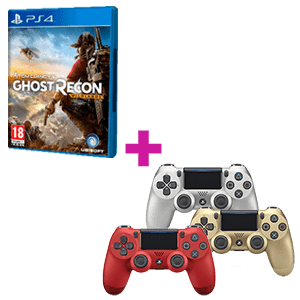 Ghost Recon Wildlands + Controller DualShock 4 a elegir