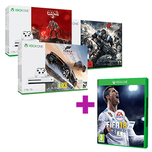 Xbox One S 1TB + FIFA 18