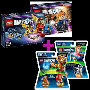 LEGO Dimensions Story Pack a elegir + Fun pack a elegir de regalo