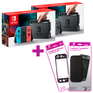 Nintendo Switch a elegir + Funda GAMEware de regalo
