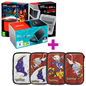 New Nintendo 3DS/2DS XL a elegir + Funda Pokémon