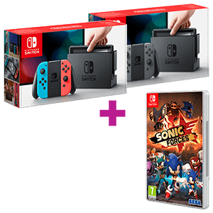 Nintendo Switch a elegir + Sonic Forces