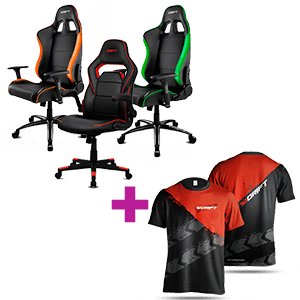 Silla gaming DRIFT + Camiseta DRIFT de regalo