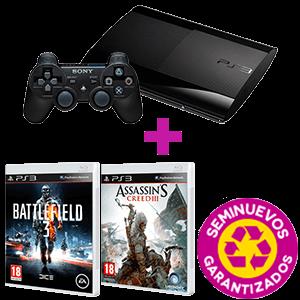 Pack seminuevo - PlayStation 3 500GB + controller + 2 juegos a elegir