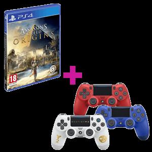 Mando Sony Oficial + Assassin´s Creed Origins