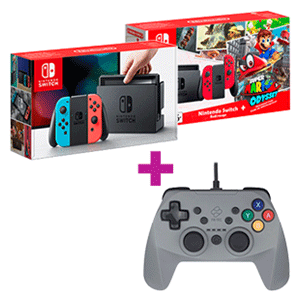 Nintendo Switch + Mando FR-Tec de regalo