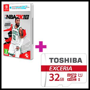 NBA 2K18 + tarjeta MicroSD 32GB de regalo