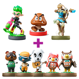 Pack figura amiibo a elegir + amiibo Animal Crossing a elegir de regalo