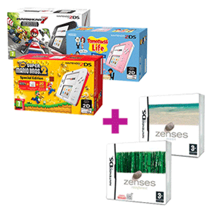Nintendo 2DS a elegir + Zenses: Ocean Edition y Zenses: Rainforest Edition