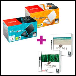 New Nintendo 2DS XL a elegir + Zenses: Ocean Edition y Zenses: Rainforest Edition
