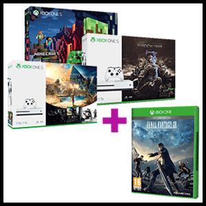 Xbox One S 1TB a elegir + Final Fantasy XV Edición Day One