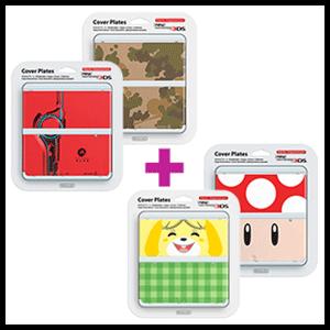 2x1 en carcasas New Nintendo 3DS