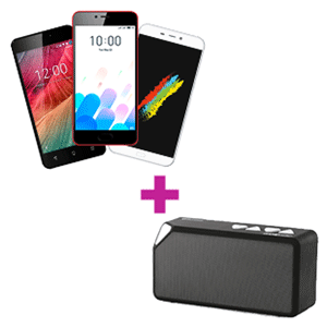 Smartphone a elegir + mini altavoz GAMEware de regalo