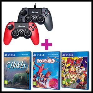 Controller At Play a elegir + juego PlayStation Talents de regalo