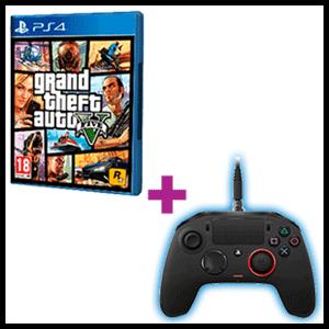 Controller Nacon Revolution Pro + Grand Theft Auto V