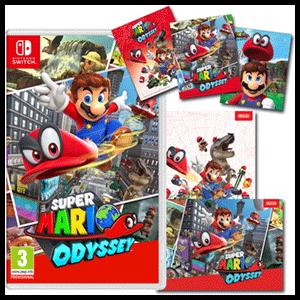 Super Mario Odyssey + Postales
