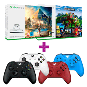 Xbox One S 500GB + Controller Inalámbrico Microsoft