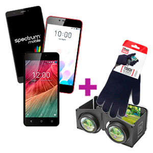 Smartphone a elegir + gafas VR o guantes de regalo