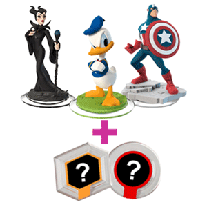 Pack Figura Disney Infinity + Power Discs Wave 3