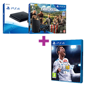 PlayStation 4 (Slim o Pro) + FIFA 18