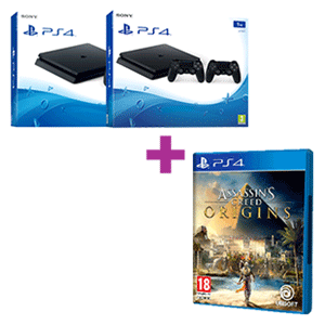 PlayStation 4 (Pro o Slim) + Assassin's Creed Origins