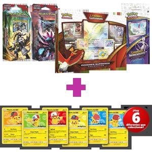 Cartas coleccionables Pokémon + paquete de cartas sorpresa Pokémon de regalo