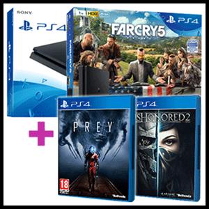 PlayStation 4 (Slim o Pro) + juego a elegir de regalo