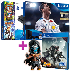 PlayStation 4 (Slim o Pro) + Destiny 2 de regalo