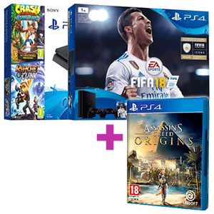 PlayStation 4 (Slim o Pro) + Assassin's Creed Origins