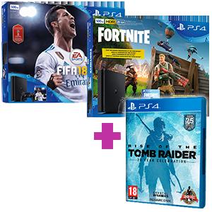 PlayStation 4 (500GB o 1TB) + Rise of the Tomb Raider de regalo