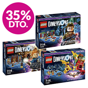 35% dto. en packs LEGO Dimensions Story Pack