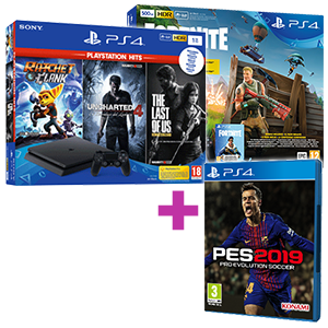 PlayStation 4 a elegir (Slim o Pro) + Pro Evolution Soccer 2019