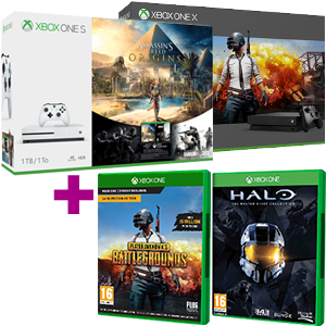 Xbox One S ó X + juego a elegir de regalo