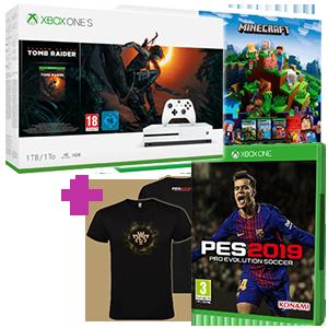 Xbox One S (500GB o 1TB) + Pro Evolution Soccer 2019